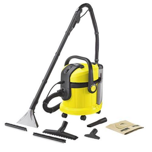 KÄRCHER SE 4002, tepovač k čištění koberců a tvrdých ploch na principu nástřiku a extrakce.