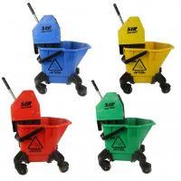 Úklidový vozík žlutý